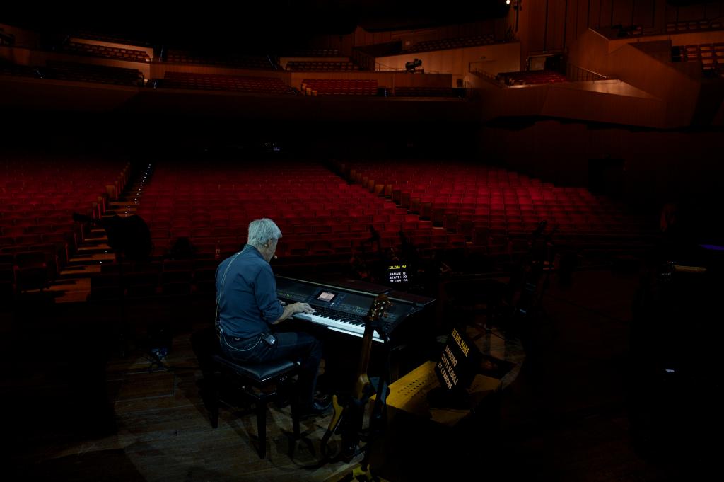 Tour Dieci Dita - Auditorium Parco della Musica - Roma PROVE